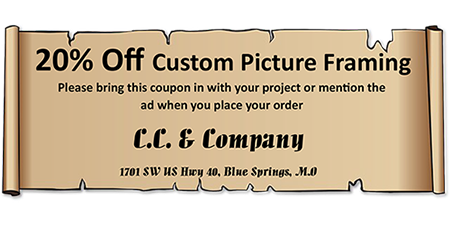 Framing coupon